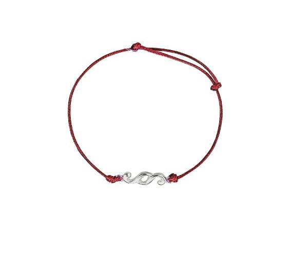 Bransoletka Nakład z czerwonym sznurkiem1