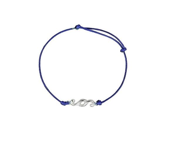 Bransoletka Nakład z niebieskim sznurkiem1